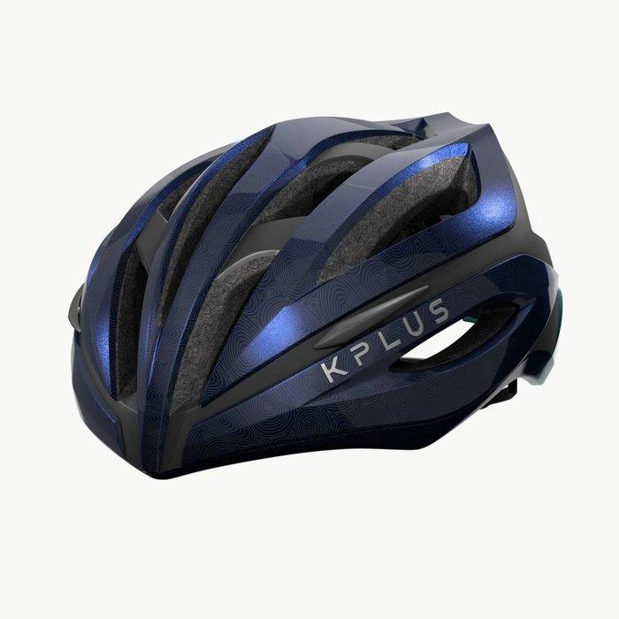 【三鐵共購】【KPLUS】SUREVO S系列漸層色公路競速單車安全帽-歐若藍