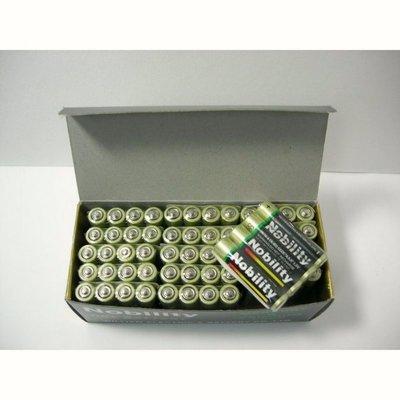 現貨 Nobility 3號/4號電池 一盒60顆一般電池  乾電池 環保碳鋅電池