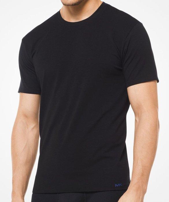 全新從未開過 Michael Kors 男子黑色短袖內衣 S 號,一組兩件,只有一組!低價起標無底價,本商品免運費!