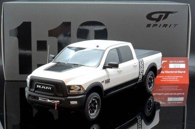 【M.A.S.H】現貨瘋狂價 GT Spirit 1/18 Dodge RAM 2500 white 2017