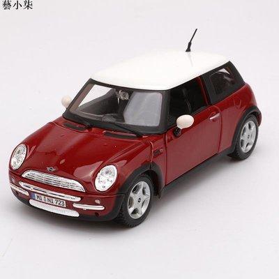 模型車美馳圖1:24寶馬迷你cooper MINI酷派合金仿真汽車模型