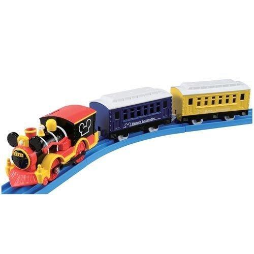 TAKARA TOMY Disney x PLARAIL 米奇 夢幻蒸氣機關車 火車