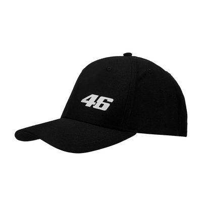 ♚賽車手的試衣間♚ VR46 Rossi CORE SMALL 46 CAP BLACK 網帽 賽車帽