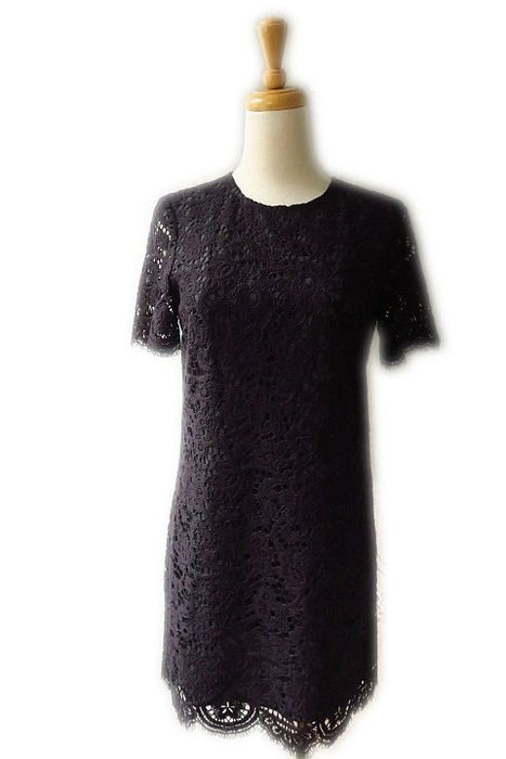 *beauty*Juicy Couture黑色蕾絲短袖洋裝0 號 6000元WE19