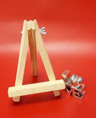 木架 木頭架 畫架 桌上展示架(中)