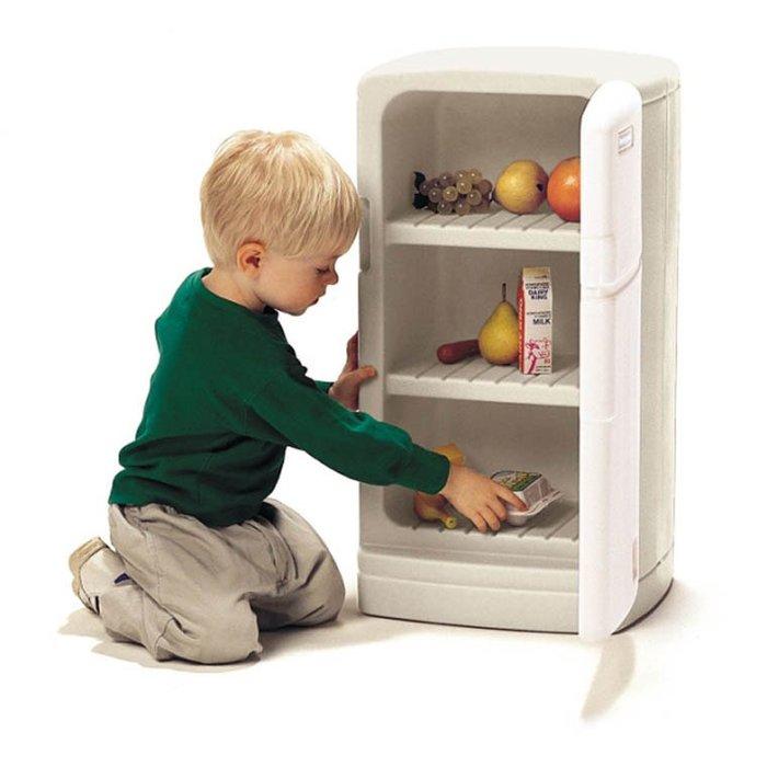 〖洋碼頭〗美國STEP2進口兒童寶寶冰箱仿真廚房類過家家生活家電小冰箱玩具 K328