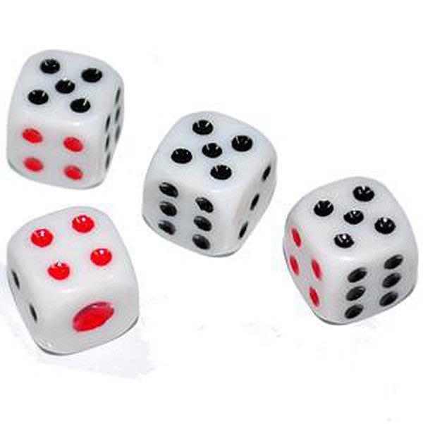 【洋洋特價 1號骰子 益智遊戲  桌遊道具  麻將遊戲】全新娛樂用骰子  賭具玩樂 遊戲專用 骰盅用骰子遊樂玩家