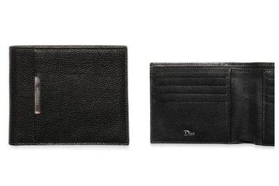 [品味人生]全新正品 Dior Homme 短夾(4卡雙層鈔票夾零錢袋) dh短夾  比較不怕刮