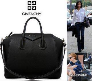 喬瑟芬【GIVENCHY】清倉特賣~2013春夏ANTIGONA GOATSKIN山羊皮*黑色 MEDIUM/中型手提包