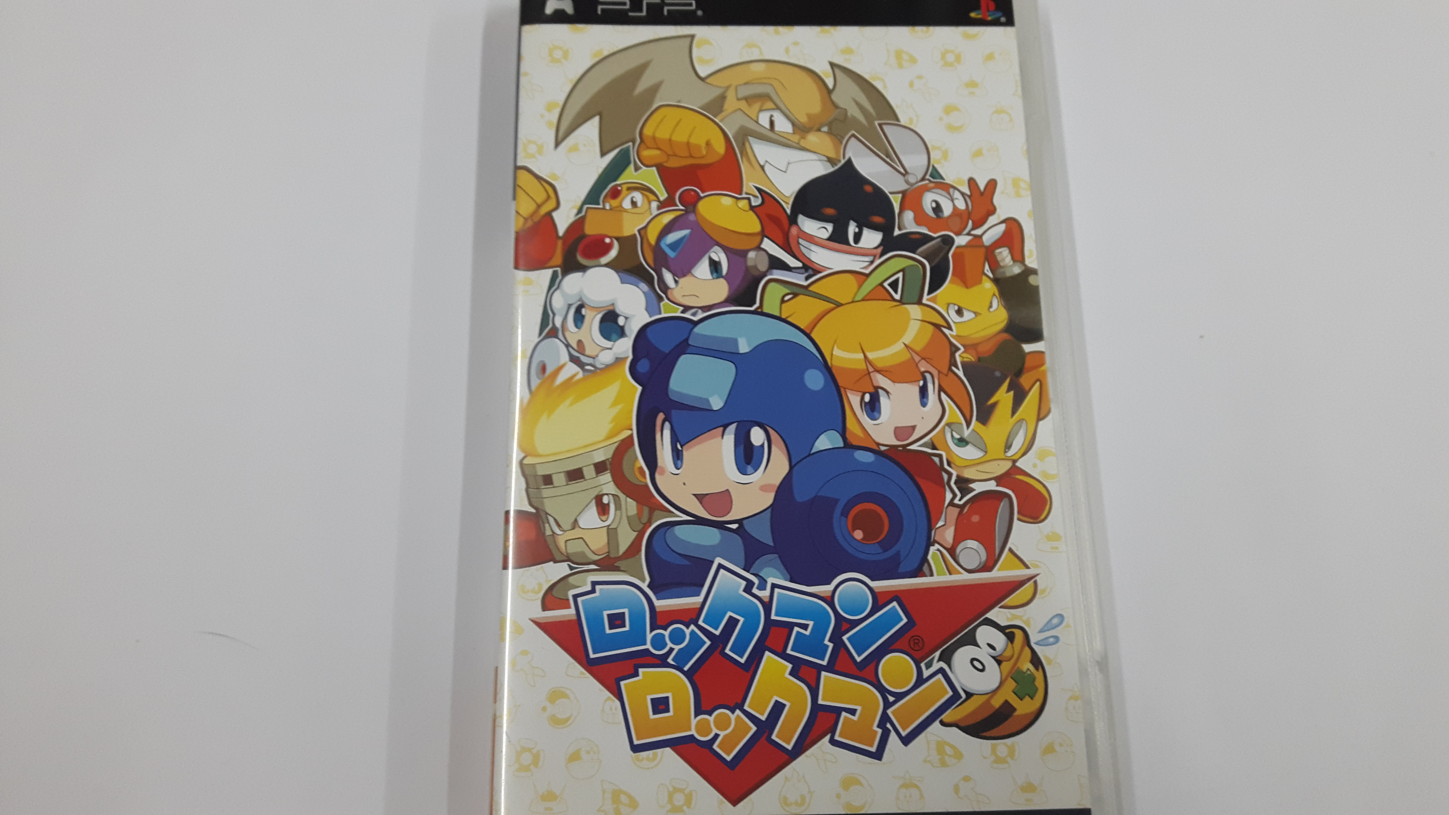 二手PSP~洛克人~中文版