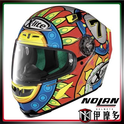 伊摩多※義大利X-Lite X-803 全罩安全帽 Nolan。#19 C. DAVIS - METAL BLACK