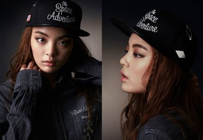 ☆AirRoom☆ 2015SS STEREO VINYLS x Disney Title Snapback 帽子