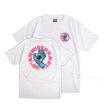【 K.F.M 】SANTA CRUZ Screaming Hand 30th Anniversary 滑板老牌 吶喊手