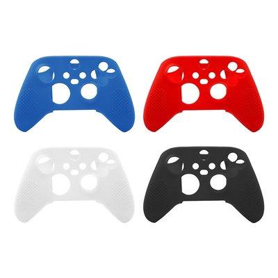 [哈GAME族] Xbox Series X / S手把矽膠果凍套 矽膠保護殼 帶防滑顆粒 黑色/白色/紅色/藍色