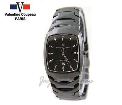【JAYMIMI傑米】Valentino范倫鐵諾古柏高精密陶瓷腕錶-藍寶石鏡面-防水 特價2300