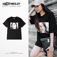 夏季嘻哈嘻哈原宿風T恤男女潮牌短袖寬松ins超火的上衣情侶半袖衫