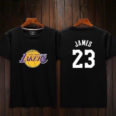 🔥詹皇LeBron James詹姆士短袖棉T恤上衣🔥NBA湖人隊Nike耐克愛迪達運動籃球衣服T-shirt男882
