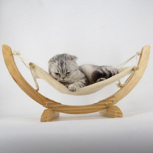 『預購』實木貓/狗/寵物吊床 懸掛式貓咪吊床