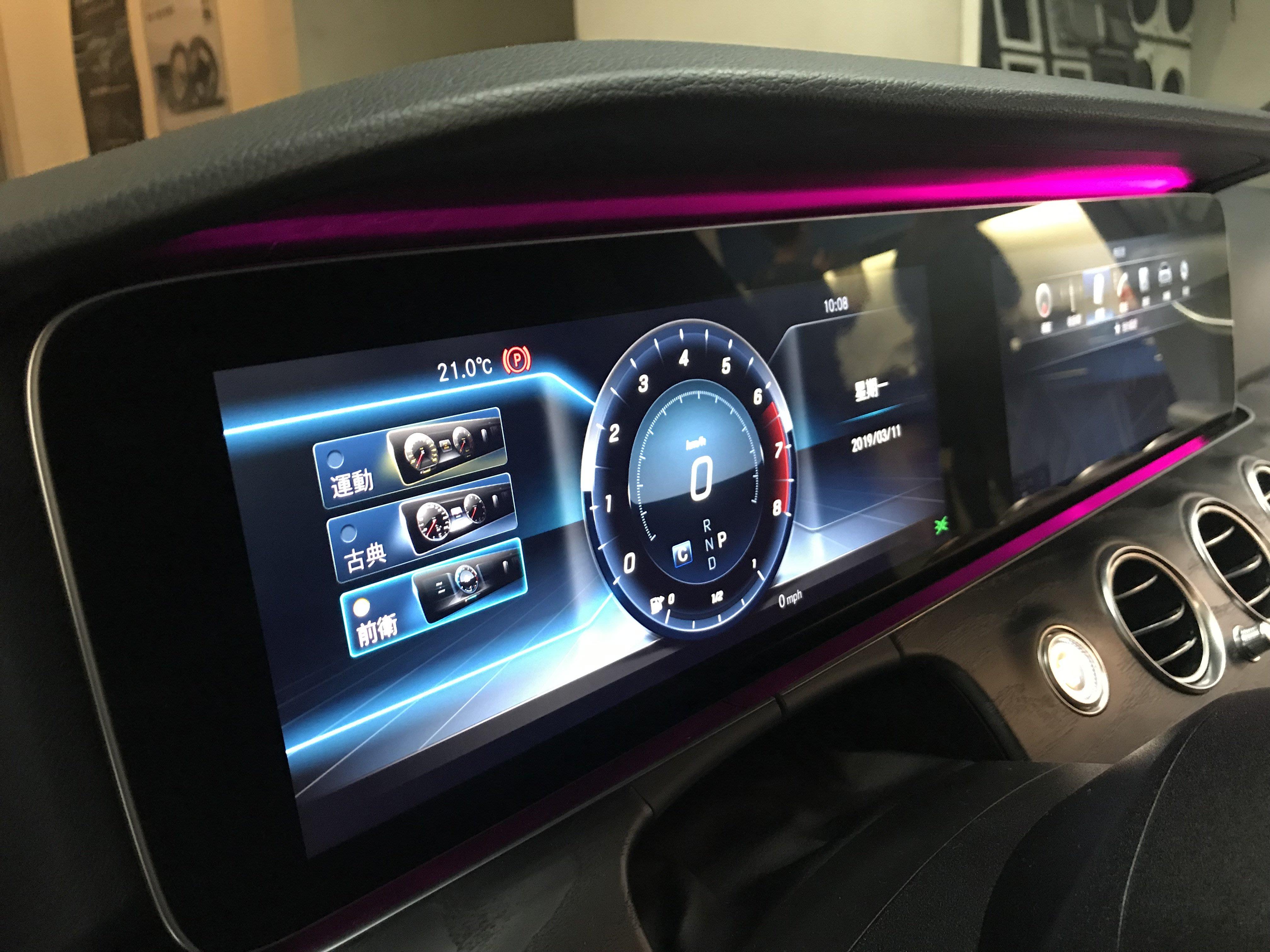 台中巨博專業影音 專 改BENZ 賓士 W213 原廠小螢幕改雙液晶螢幕 12.3吋 E300 可灌原廠導航改Acc