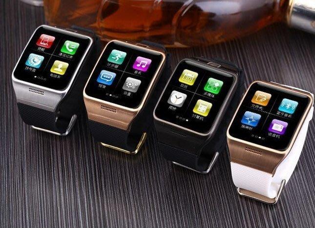 2015新款智慧定位手錶LG128 支援插卡藍牙通話手錶資訊微信音樂   顏色:全黑/白金/黑金/黑銀 下標請說明顏色