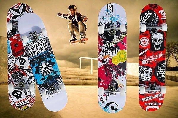 【易發生活館】新品送包工具專業滑板正品四輪雙翹滑板公路板成人滑板代步車限量 生日禮物送朋友