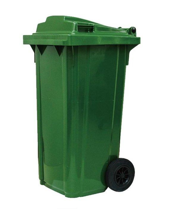 【SF-GB120】 120公升兩輪式資源回收垃圾桶(SS)
