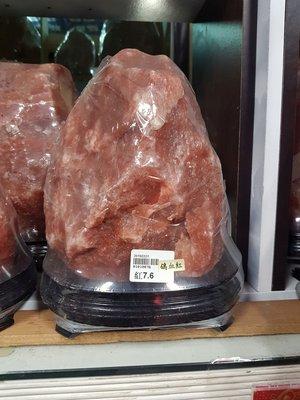 鴿血紅鹽燈7.6公斤