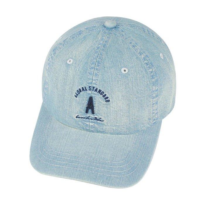 ☆二鹿帽飾☆ (A)韓版立體水洗球帽/流行棒球帽/休閒帽最新帽款/帽簷 7cm-淺藍