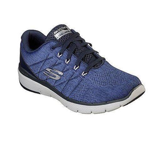 Skechers Flex Advantage3.0 寬楦 深藍 記憶墊 慢跑鞋 男 52957WNVY ☆SP☆