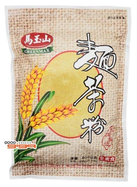 【吉嘉食品】馬玉山-麵茶粉(素食) 600公克[#1]{H005}