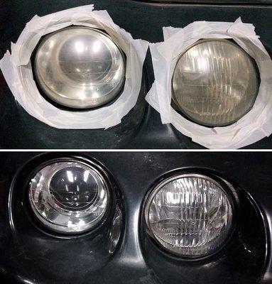 大燈快潔 LEXUS 凌志 ES300 MCV20 MCV21 ES330 ISC 原廠大燈泛黃霧化拋光翻新處理