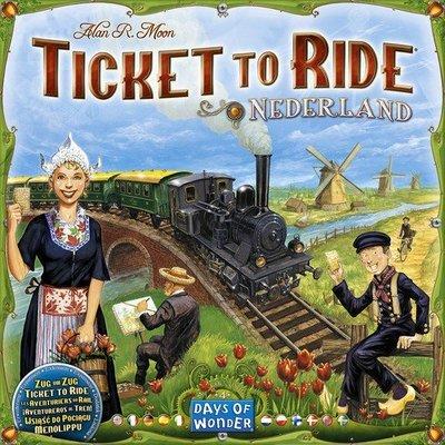 大安殿實體店面 免運 Ticket to Ride Nederland Map 鐵道任務 荷蘭擴充 正版益智桌遊