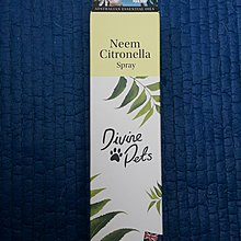 現貨 澳洲 Divine Pets Neem Citronella Spray 防蚊蟲、跳蚤噴霧 130ml
