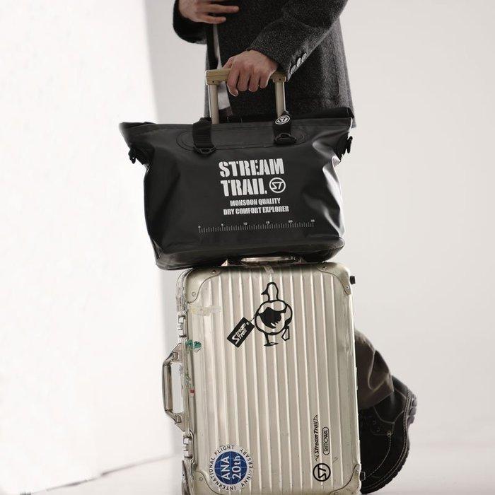 日本Stream Trail 戶外防水包 新Marche Dx-1.5手提斜背兩用Onyx 筆記型電腦包 時尚