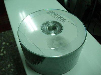 @淡水無國界@全新 SOCOOL CD Recordable VCD 空白片 CD-R 白金片 每桶50片 VCD 中環 A級 290元