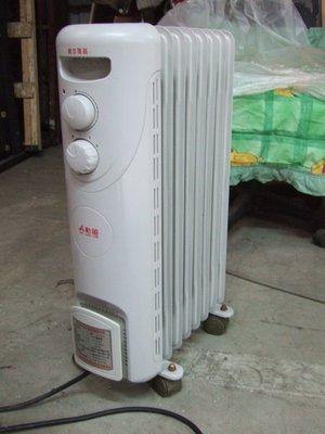 二手商場....勳風葉片式電暖器