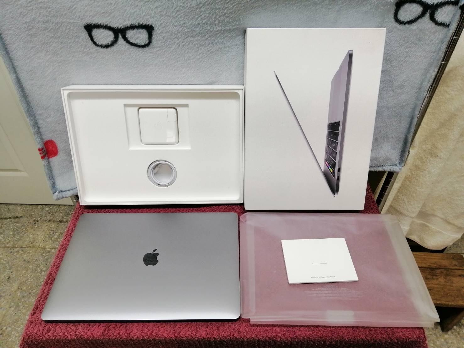 很新二手/電池循環12次【宏進】Apple MacBook Pro 15吋/i7/16G/256G灰 MV902TA/A
