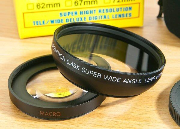 呈現攝影-ROWA 58mm 0.45x 廣角鏡 近攝鏡 Macro 無暗角 多層膜 鏡頭 18-55mm LX3 Gx1 GF2