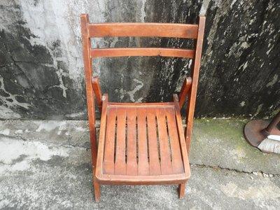 紫色小館A--------------摺疊原木椅