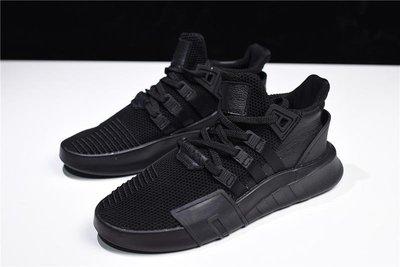 Adidas EQT Bask ADV 全黑 針織 透氣 休閒 運動 DA9537