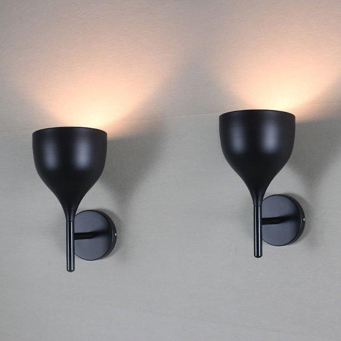 【58街】義大利設計師款式「酒杯壁燈」。複刻版。GK-262
