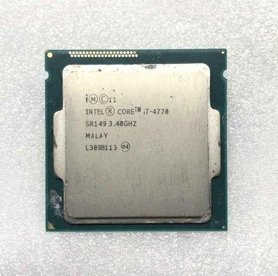 【1150 CPU】Intel Core i7-4770 3.4G 特價 3200 元