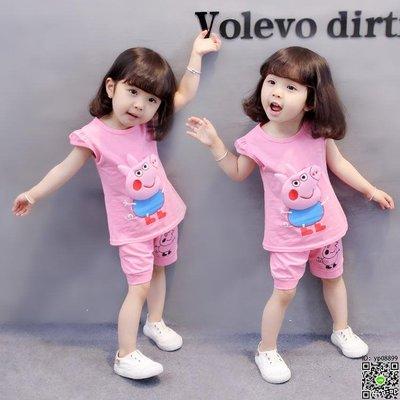 套裝 潮童裝女寶寶套裝女童0嬰幼兒衣服洋氣夏裝1-3歲韓版2夏季4棉質 12款