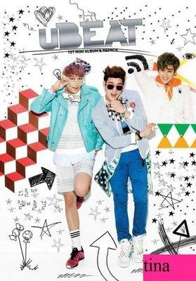 uBEAT Mini Album Vol. 1韓國原版首張迷你專輯-全新未拆下標即售U-Kiss.AJ.Eli.Kevin