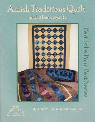 【傑美屋-縫紉之家】美國拼布書籍~AMISH TRADITIONS QUILT紙型書#PART1