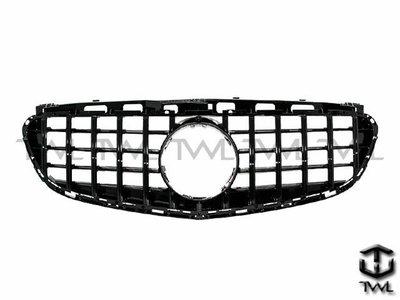 《※台灣之光※》BENZ賓士 W212 17 16 15 14年GTR GT AMG款 直立式亮黑水箱護罩