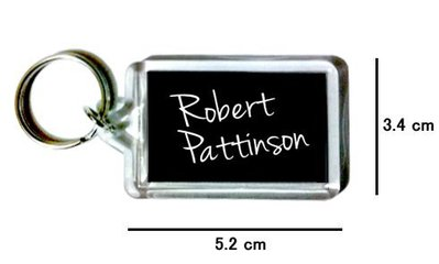 〈可來圖訂做-鑰匙圈〉Robert Pattinson 羅伯派汀森 壓克力雙面鑰匙圈 (可當吊飾)