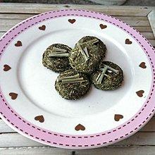 【兔女郎點心吧】檸檬草小草餅~兔子天竺鼠蜜袋鼯龍貓零食點心~健康0添加