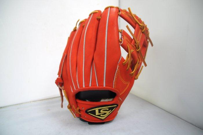 《星野球》Louisvelle Slugger 訂製版 棒壘球手套 日系紅 工字檔