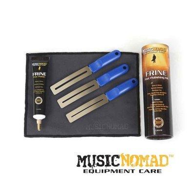 Music Nomad MN124 銅條清潔5件裝組 FRINE Fret Polish Kit - 【黃石樂器】
